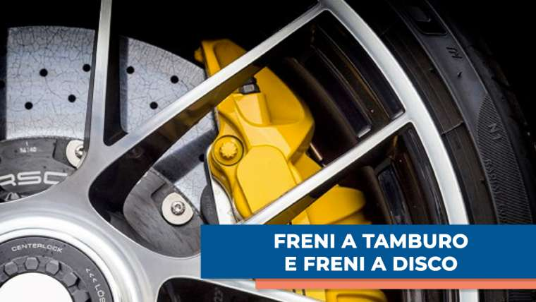 Differenze tra freni a tamburo e freni a disco