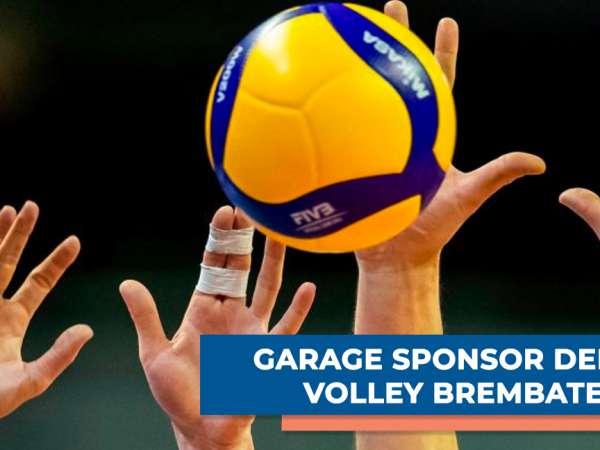 GARAGE sponsor della Volley Brembate
