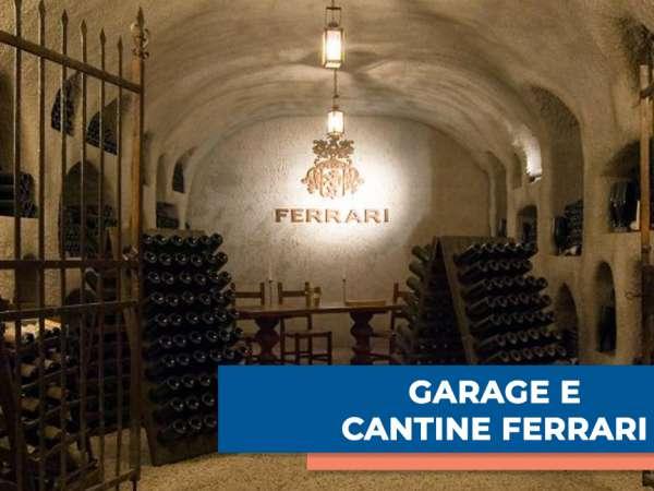 GARAGE & Cantine Ferrari per una serata di degustazione
