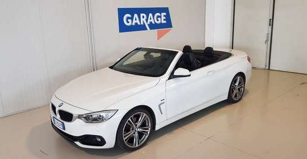 BMW 420 d Cabrio Sport